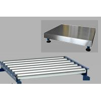 China Scale Roller Top Easily Sliding Heavy Package,Stainless Steel Roller Table for Special Weighing factory