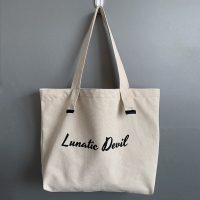 China ODM Reusable Tote Canvas Bags With Zipper Closure factory