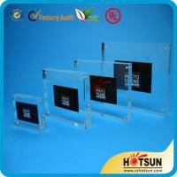 China clear acrylic picture photo frame photo frame 4x6,5x7 wholesale custom acrylic photo frame factory