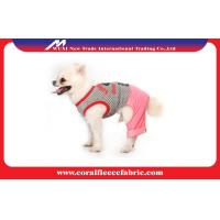 China Knitted Cute Pet Clothes Pet Apparel & Accessories , Colorful Small Dogs Clothes factory