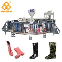 Buy cheap 12 Stations 1/2 color Boot Injection Molding Machine, Gumboots Making Machine from Wholesalers