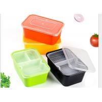 Buy cheap Eco Friendly Food Grade PP Food Trays With Lining Rectangular Shape from Wholesalers