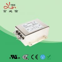 China Electric Passive 3 Phase Power Line Filter 440V 480V 50A Metal Case factory