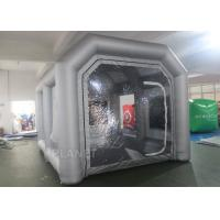 China Custom Small Portable Mobile Inflatable Spray Booth For Car Maintaining factory