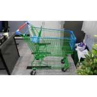 Buy cheap Supermaket 150L Wire Shopping Trolley With Advertisement Board from Wholesalers