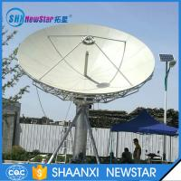 Buy cheap 6.2m RxTx c band manual or motorized earth station satellite communication antenna from Wholesalers