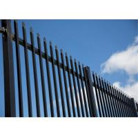 China Metal Garrison Fencing panels 2100mm x 2400mm width on sale