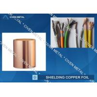 Buy cheap Roll Size ED Copper Foil For Shielding, Made Of Red Copper from Wholesalers