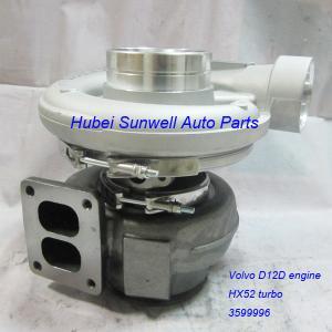 HX52 turbo 3599996 Volvo D12D engine turbocharger 20516147