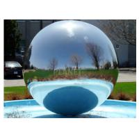 China Giant Inflatable Disco Ball  / PVC Inflatable Floating Mirror Ball factory