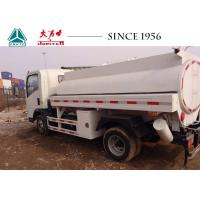 Buy cheap HOWO A7 4X2 Fuel Tank Truck 5000 Liters To 15000 Liters With PTO For Sale from wholesalers