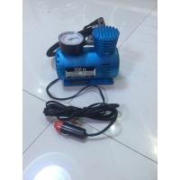 China Small Fast Inflation Black And Blue Portable Air Compressor For Car With CE Certification factory