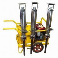 Buy cheap Hydraulic Rock and Concrete Splitter, Diesel Engine with 1/2/3 Cylinders, Dust-free from Wholesalers