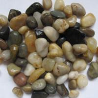 Buy cheap Mix color pebble stone from Wholesalers
