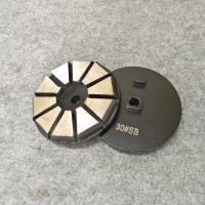 "China STI Grinding Tools : 3"" Diamond Segments Concrete Grinding Disc with 10 Segments factory"