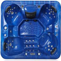 Buy cheap Outdoor Hot Massage Tub 4 Person With Bluetooth , Wifi , Music Speakers from Wholesalers