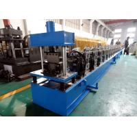 Buy cheap Galvanized Quad Gutter Roll Forming Machine , Electric Control Gutter Rolling Machine from Wholesalers