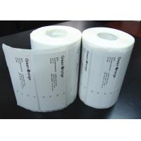 Buy cheap Adhesive Blank Sticker Labels , Permanent Thermal Transfer Labels from Wholesalers