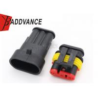 Buy cheap Waterproof 3 Pin Tyco AMP Connectors 282105-1 282087-1 1 Year Warranty from Wholesalers