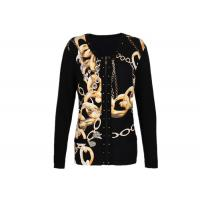 Breathable Women's Knit Cardigan Sweaters with Zip Front Special Patterns for Winter