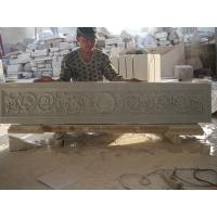 China white marble carved panel for indoor factory