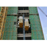 China TUV Rack Pinion Lift 450m Construction Site Elevator factory