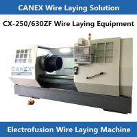 CX-250/630ZF ELECTRO-FUSION FITTING PRODUCTION EQUIPMENT cnc machine