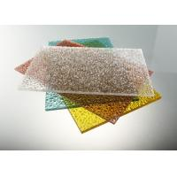 Buy cheap Good Strength Diamond Clear Polycarbonate Sheet / Uv Polycarbonate Panels Color Stable from Wholesalers