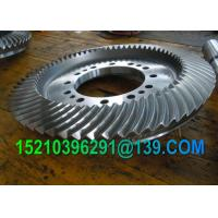 Buy cheap Hydraulic Straight-Tooth Miter CNC Machining Coniflex Bevel Gears Wheel from Wholesalers