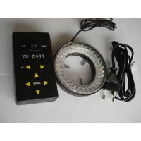 China YK-B64T  LED Ring Lamp microscope spare parts led ring light 4 segment controll four zone factory