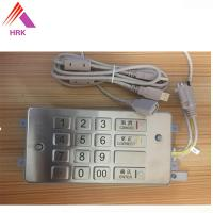 China ATM21 OKI Cash Machine Parts , 6040W OKI EPP Keyboard ZT598-N36-H21-OKI factory