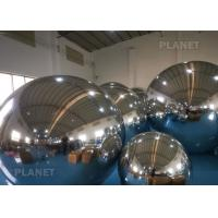 China Double Layer Inflatable Mirror Ball Environmentally Easy To Carry factory