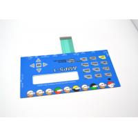Buy cheap Push Button Membrane Switch Panel With LCD Clear Window No Embossing from Wholesalers