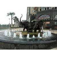 Buy cheap High quality bronze elephant fountain sculpture large elephant statues from Wholesalers