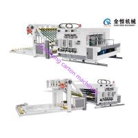 Buy cheap 2 Colors Flexo Printer Slotter Machine Easy Operation With Stacker 100-120Pcs/Min from Wholesalers