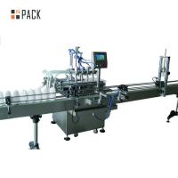 Buy cheap Corrosive Bleach Industrial Bottling Equipment Smooth And Stable Filling from Wholesalers