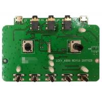 Buy cheap 2 Layers SMT PCB Assembly PCBA Prototype Service Green Soldermask For Audio from wholesalers