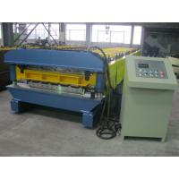 Buy cheap High Speed Double Layer Roll Forming Machine Automatic Hydraulic Cutting from Wholesalers