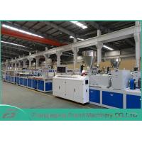 Buy cheap White PVC Panel Board Making Machine Decorating Board Extruder Machine 5~25mm Thickness from Wholesalers