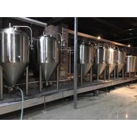 Buy cheap 2000L Large Scale Brewing Equipment 304 Sanitary Pumps With VFD Controls from Wholesalers