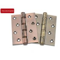 Buy cheap 8 Holes Thicken Door Fittings Stainless Steel 201 Hinges Surface Wire Drawing Treated from Wholesalers