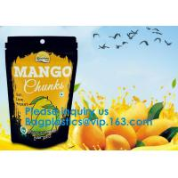 Buy cheap Stand Up Ziplock Logo Printed Kraft Craft Paper Bags Food Grade Stand Up Zipper from wholesalers