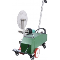 China SWT-MAT2 hot air welding machine weld Width 40mm with PVC waterproofing factory