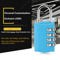Buy cheap Four - Digit Suitcase Combination Lock , Mini Combination Travel Padlock from Wholesalers