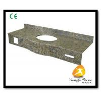 China Xiamen Kungfu Stone Ltd supply Bathroom Natural Granite Countertops In High quality and cheap price on sale