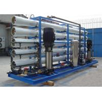 Anti corrosion  Brackish Water Reverse Osmosis Systems for potable water 15m3/hour