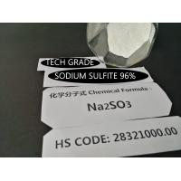 Buy cheap Na2SO3 97% Purity Sodium Sulfite Preservative White Gravel - Powder Crystal from Wholesalers