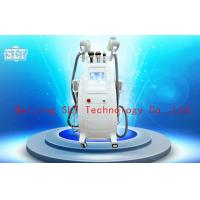 Buy cheap Cryolipolysis Coolsculpting Fat Removal Machine , Lipo Laser Cavitation RF Beauty Equipment from Wholesalers