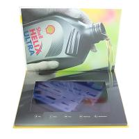 China Custom Buttons Control LCD Video Brochure , IPS LCD Screen Video Brochure factory