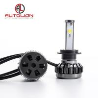 China Pure Aluminum LED Car Headlight , h1 h3 h4 h7 H8 H9 h11 LED Headlamp Color Changeable factory